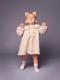 ブラウン着用写真(月齢17ヶ月、身長84cm、着用サイズ80cm)