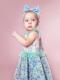 ラベンダーフラワー着用写真(年齢1才、身長80cm、着用サイズ80cm)
