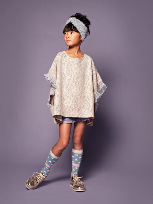ブラウン着用写真(年齢8才、身長131cm、着用サイズ130cm)