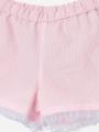 アップ画像 - ピンク色キッズボトムス