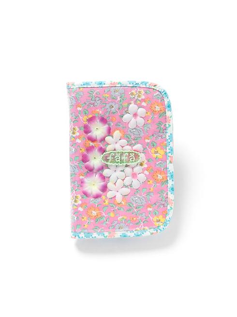 ピンク柄のマルチ・母子手帳ケース(S)です。