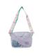 ピンクシンデレラ柄のスパンコール入り通園バッグです。