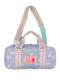 ラベンダーユニコーン柄の絵の具バッグです。
